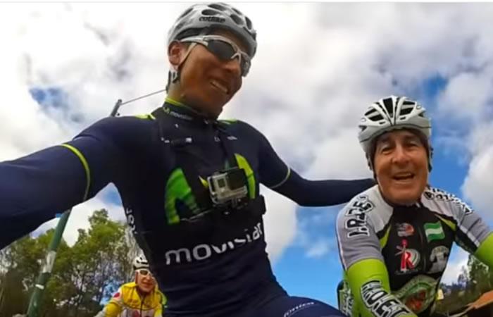 Nairo Quintana: El vídeo de su entrenamiento que causa furor