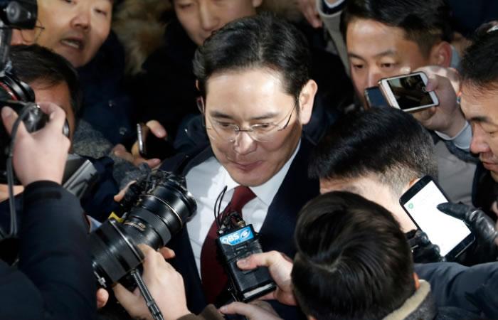 Lee Jae-yong, acusado de corrupción. Foto: EFE