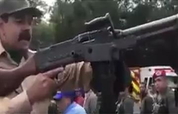 Nicolás Maduro entregaría armamento a las clases populares