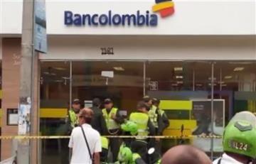 Video: Toma de rehenes en un banco de Jamundí