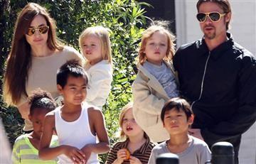Angelina Jolie y Brad Pitt: Aparece madre de una de sus hijas