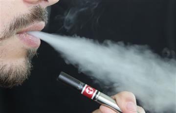 Cigarrillo electrónico explota en la boca de un hombre