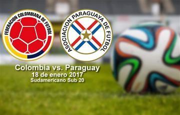 Colombia vs. Paraguay: Transmisión en vivo