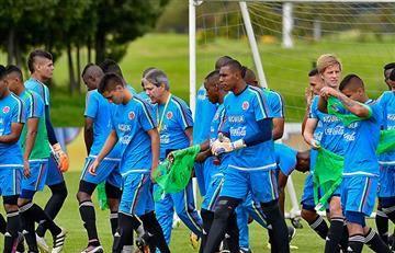 Selección Colombia debutará ante Paraguay en el Sudamericano Sub-20