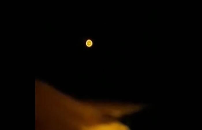 Antioquia: OVNI aparece en su cielo