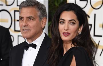 George Clooney será padre de gemelos