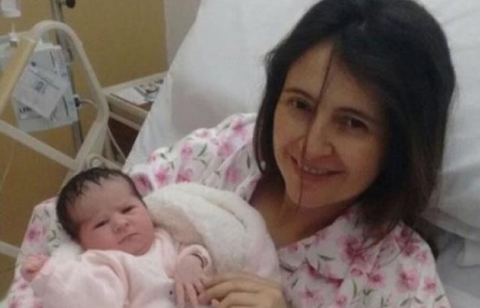 Paloma Valencia dio a luz a su hija Amapola