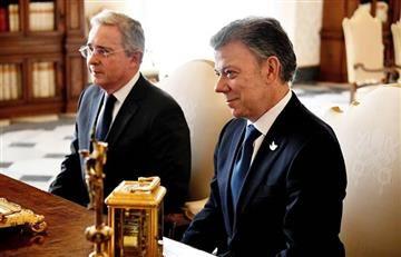 Santos invitó a Uribe a las negociaciones con el ELN