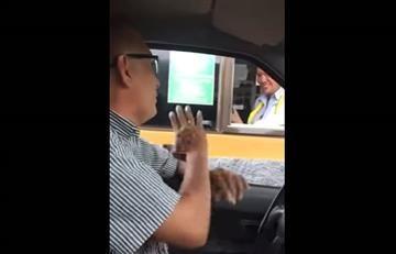 Villavicencio: El hombre que se cansó de pagar peajes