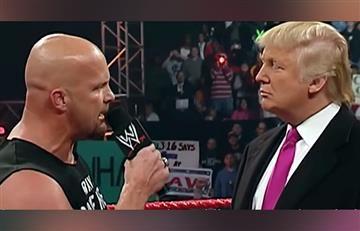 Donald Trump: El día que Stone Cold le dio su merecido