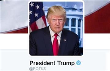 Donald Trump estrena cuenta de Twitter presidencial