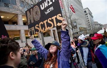 Estados Unidos: Donald Trump es recibido en medio de manifestaciones