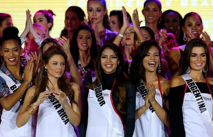Miss Universo 2017: Las latinas pisan fuerte en primer desfile