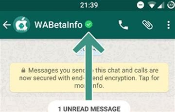 WhatsApp integra la verificación de perfiles