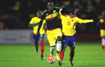 Colombia recibió cuatro goles en derrota frente a Ecuador