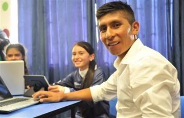 Nairo Quintana llenó de tecnología a su región