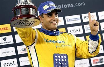 Montoya campeón de la Carrera de Campeones