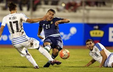 Sudamericano Sub 20: Argentina y Uruguay empatan en un partidazo