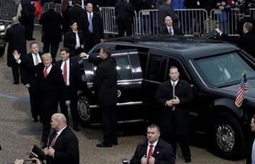 Donald Trump: 'La Bestia' es el auto presidencial