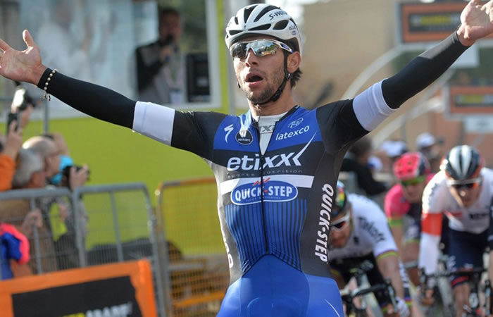 Fernando Gaviria y Darwin Atapuma lideran a Colombia en la Vuelta a San Juan