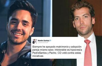 Martín Santos y Pedro Santos reviven disputas por preferencias sexuales