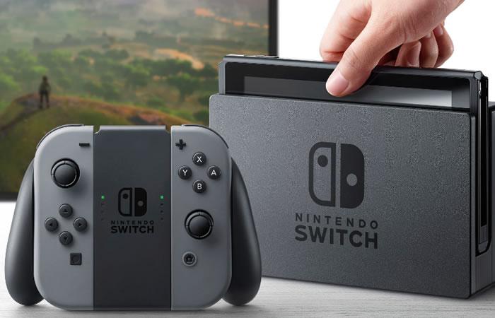 Nintendo Switch. Foto:EFE