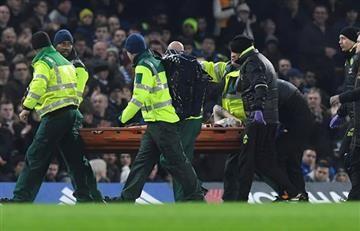 Premier League: Tras cabezazo jugador se fractura el cráneo