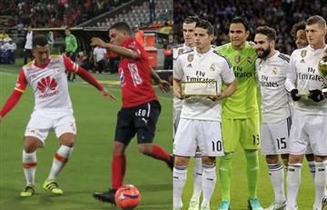 Santa Fe o Medellín contra el Real Madrid