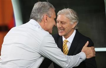 Selección Colombia: DT de Brasil elogia el trabajo de Pékerman
