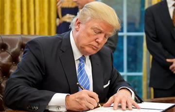 Trump le retiró apoyo económico a las ONG que promueven abortos