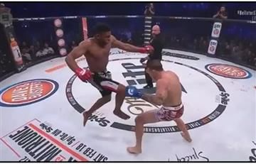 Video: Paul Daley protagoniza el rodillazo del año