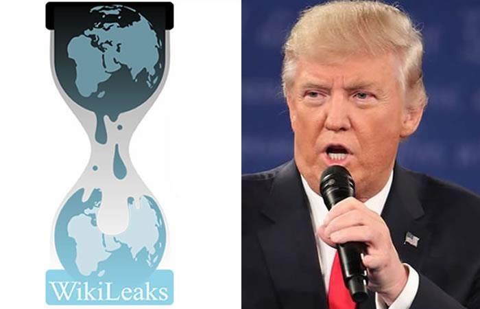 Donald Trump: Wikileaks publicará declaraciones fiscales del mandatario
