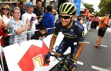 Esteban Chaves le da a Colombia la mejor noticia de este martes