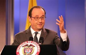 Hollande visita zona veredal de las Farc