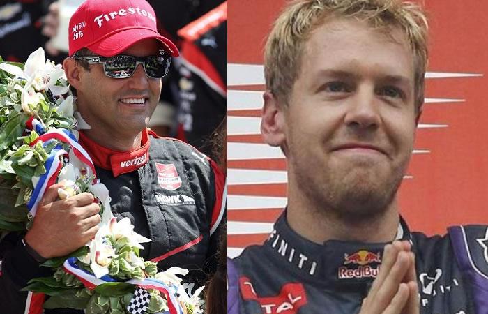 Montoya quería darle un regalo a Colombia, pero Vettel se lo quitó