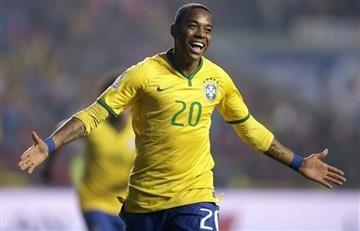 Robinho comandará el ataque de Brasil ante Colombia, Diego irá al banco