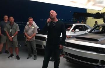 Vin Diesel filtraría el nuevo Dogde Challenger SRT Demon
