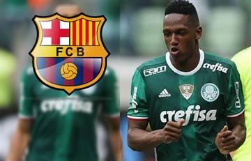 Yerry Mina ya se puso en contacto con el Barcelona
