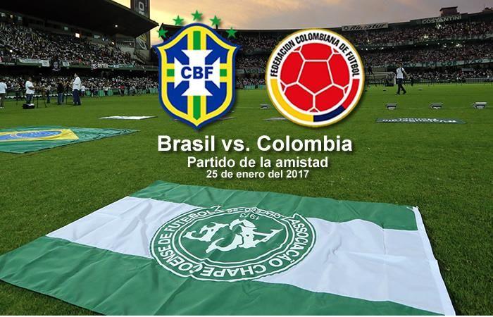 Brasil superó a Colombia en duelo amistoso