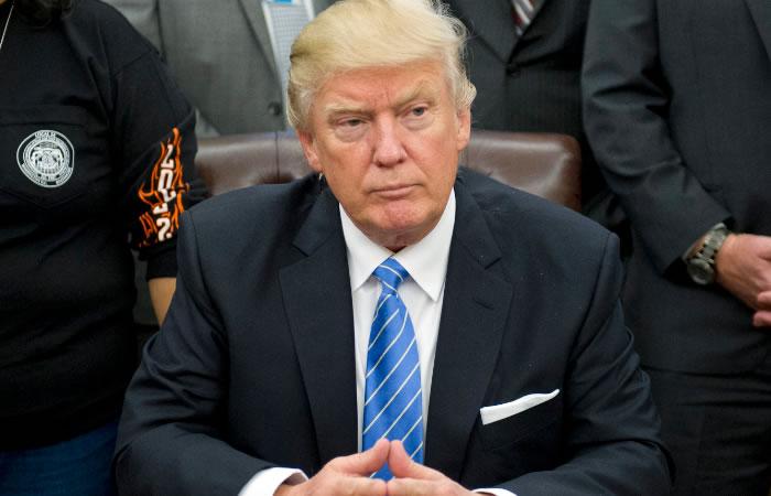 Donald Trump empieza a tomar medidas. Foto:EFE