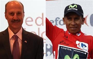 Nairo Quintana recibe dura crítica del presidente de Fedeciclismo