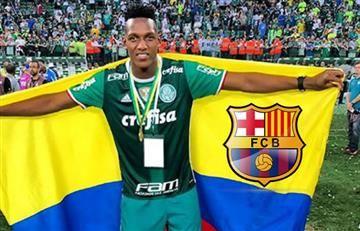 Yerry Mina por fin habló sobre su situación con el Barcelona
