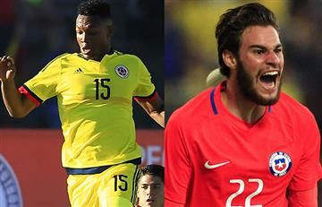 Colombia vs. Chile: Hora y transmisión