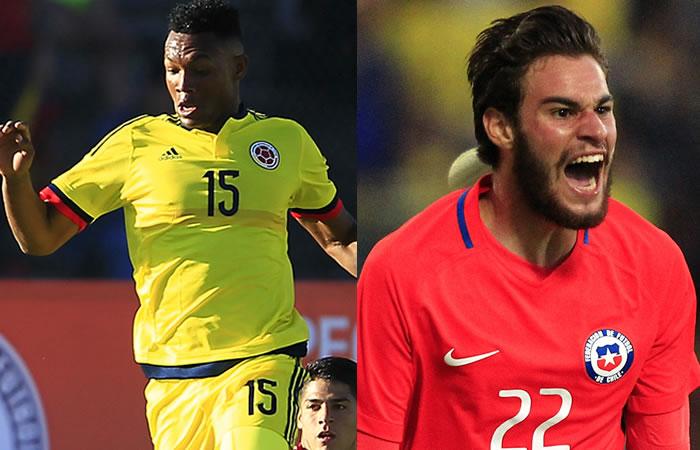 Colombia vs. Chile: Hora y transmisión