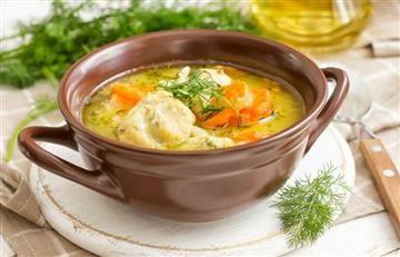 YouTube: ¿Cómo preparar una sopa de pollo y pasta?