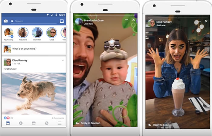 Facebook integra las Stories