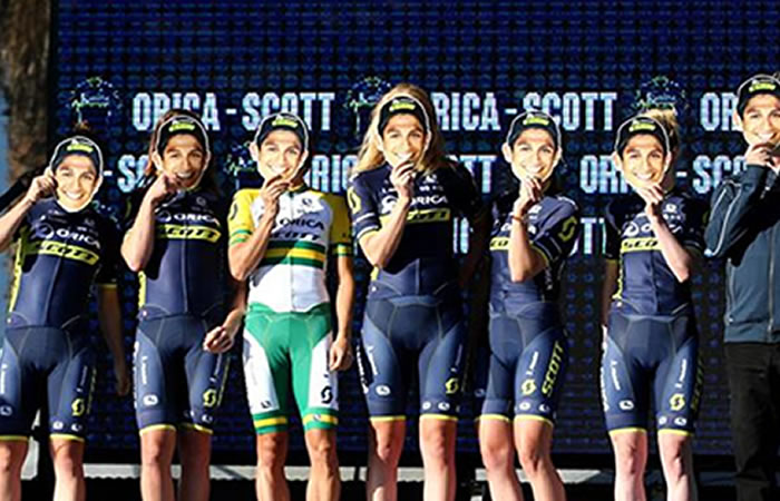 Foto: Facebook Orica-Scott