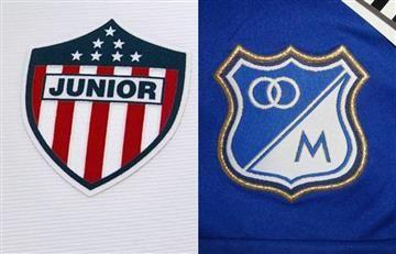 Junior y Millonarios presentaron sus nuevas camisetas