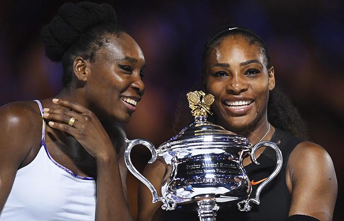 Serena Williams le ganó un título a su hermana Venus