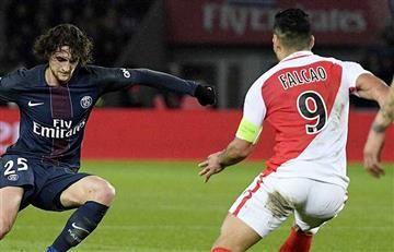 Falcao García y el Mónaco sacaron un agonizante empate ante el PSG